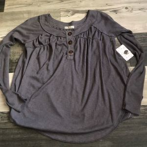 We The Free by FP Must Have Henley Storm Gray